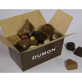 Caja Bombones DUMON 500 gramos = 32und.